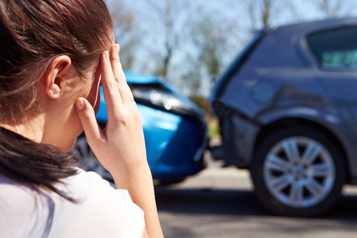 תאונת דרכים בדרך לעבודה