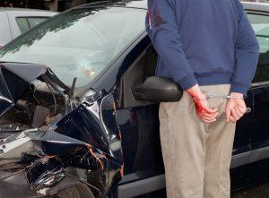 מעצר לאחר תאונת דרכים